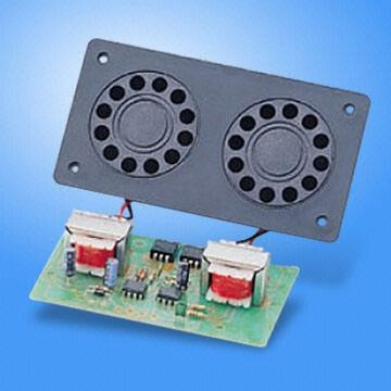 Twin Piezo Driver Assembly with Output of 126dB